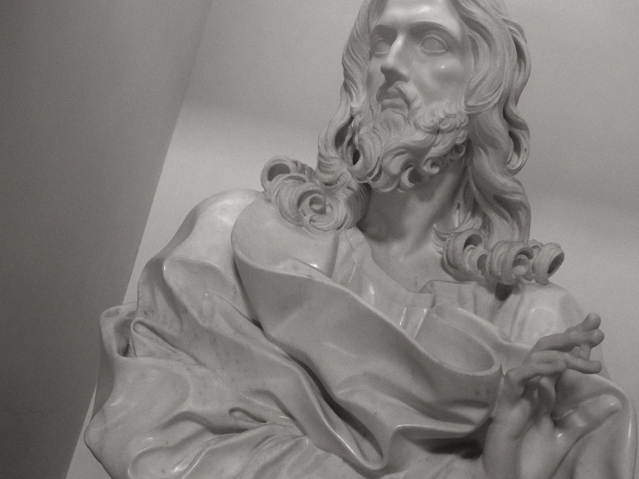 the last bernini is the salvator mundi by pina baglioni sandro cristo salvatore di g l bernini basilica s sebastiano roma