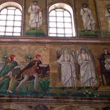 Dettaglio del mosaico - Basilica di Sant'Apollinare, Ravenna