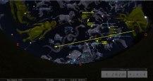 Il cielo della notte del 25 dicembre