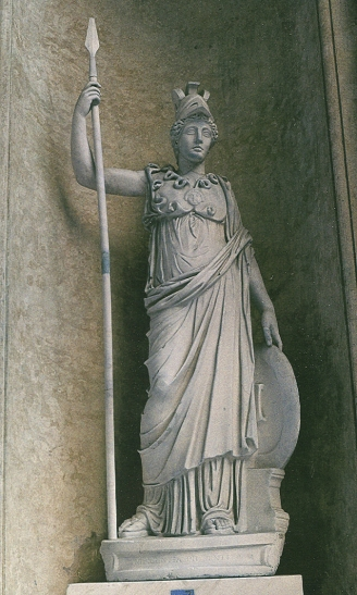 La Dea Minerva (Musei Vaticani)