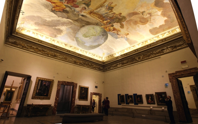 Sala dell affresco