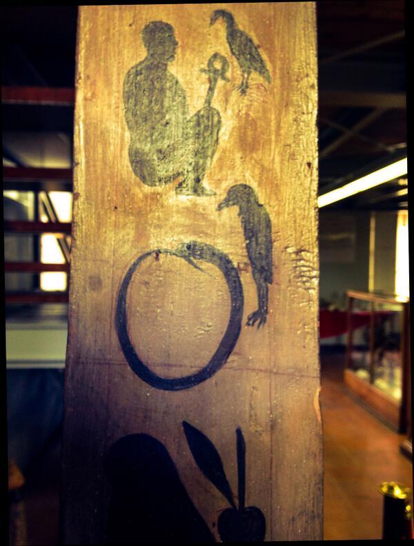Dettaglio dell'obelisco kircheriano per Cristina di Svezia