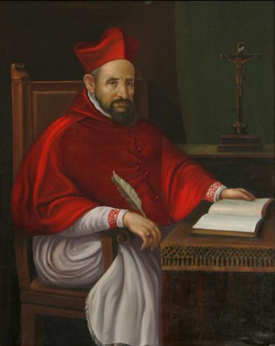 Ritratto del cardinale Roberto Bellarmino