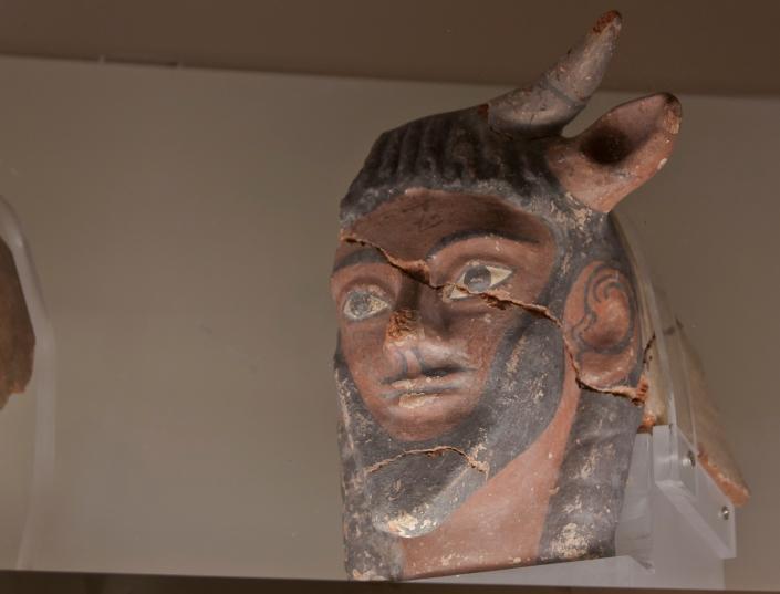 Achelous, the Bull God
