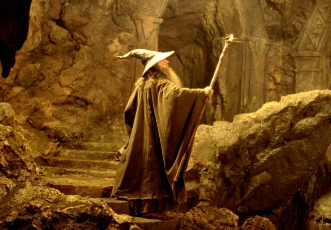The Wizard Gandalf of The Lord of the Ring by  J.R.R. Tolkien