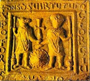 Santi Cristoforo cinocefalo e Giorgio, Macedonia, VI-VII secolo
