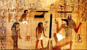 Il Dio Anubi - Libro dei Morti