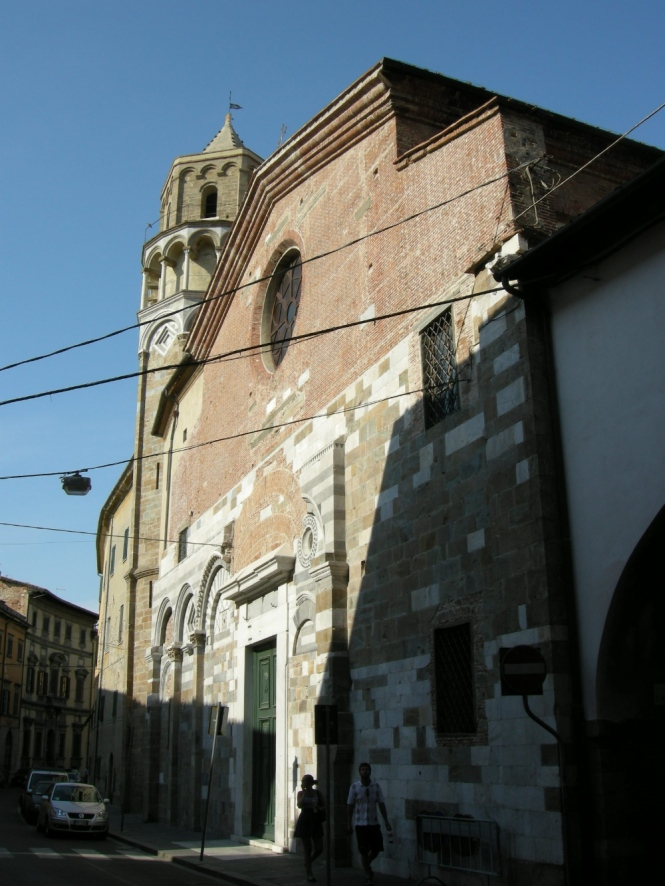 The church of San Nicola in Pisa
