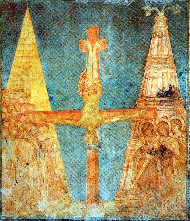 La crocifissione di San Pietro di Cimabue
