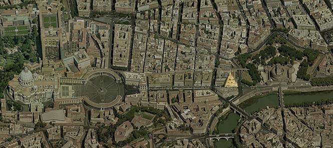 Roma - S Pietro, Castel Sant'Angelo, Palazzo di giustizia